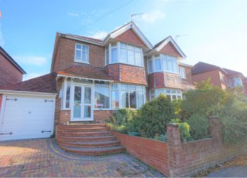Thumbnail 3 bed semi-detached house for sale in Brownlow Gardens, Southampton