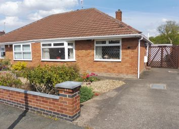 Thumbnail 2 bed semi-detached bungalow for sale in Derwent Drive, Childer Thornton, Ellesmere Port