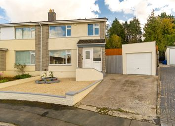 Thumbnail 3 bed semi-detached house for sale in Churchtown Vale, Saltash, Cornwall
