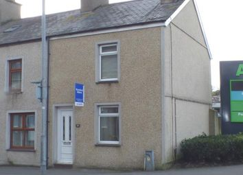 Thumbnail 2 bed end terrace house for sale in Sand Street, Pwllheli, Gwynedd