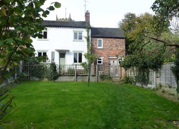 Thumbnail 3 bed cottage to rent in Vicarage Lane, Audlem, Crewe