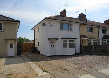 Thumbnail 3 bed end terrace house for sale in Chinn Brook Road, Birmingham