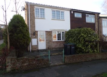 Thumbnail 2 bedroom end terrace house to rent in Ifield Way, Gravesend