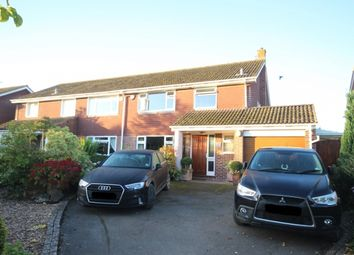 Thumbnail 3 bed semi-detached house for sale in Higher Road, Chedzoy, Bridgwater