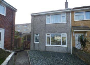 Thumbnail 2 bed end terrace house for sale in Ffordd Mela, Pwllheli, Gwynedd