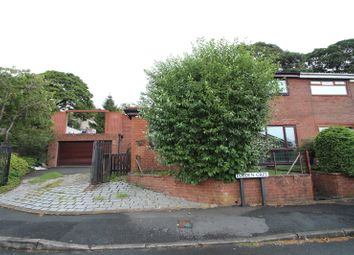 Thumbnail 3 bed semi-detached house for sale in Lobden Crescent, Whitworth, Rochdale, Lancashire