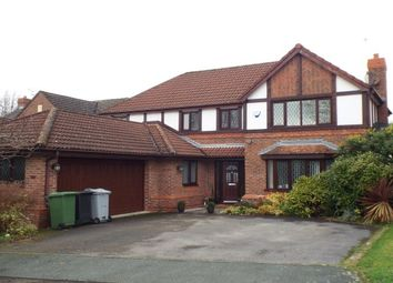 Thumbnail 4 bed detached house to rent in Aylesby Close, Knutsford, Cheshire