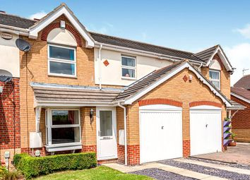 Thumbnail 3 bed terraced house for sale in Foxglove Close, Kingswood, Hull