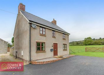 Thumbnail 3 bed detached house for sale in Llanfynydd, Wrexham