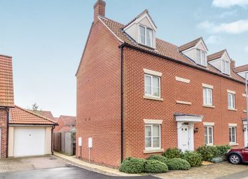 Thumbnail 4 bedroom semi-detached house for sale in Peregrine Mews, Cringleford, Norwich
