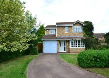 Thumbnail 4 bedroom detached house to rent in Exmoor Close, Huntingdon