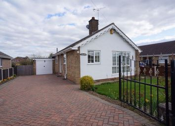 Thumbnail 3 bed bungalow for sale in Hallgarth Road, Thorpe Audlin, Pontefract