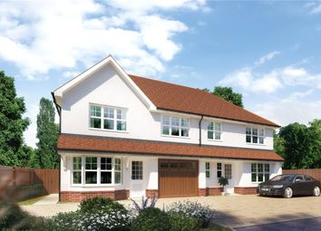 Thumbnail 3 bed semi-detached house for sale in Baring Crescent, Beaconsfield