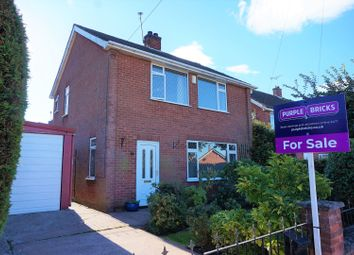 Thumbnail 3 bed detached house for sale in Griceson Close, Ollerton, Newark
