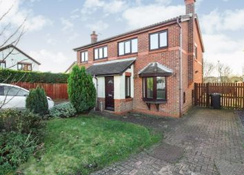 Thumbnail 3 bed semi-detached house to rent in Sorrel Close, Ashington