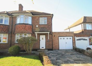 Thumbnail 3 bed semi-detached house for sale in Grange Road, Orpington