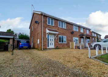 Thumbnail 3 bed semi-detached house to rent in Langley Road, South Wootton, Kings Lynn