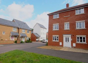 Thumbnail 4 bed end terrace house for sale in Snowdrop Street, Wymondham