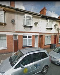 Thumbnail 3 bed terraced house for sale in Conway Road, Leicester