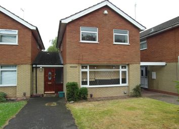 Thumbnail 3 bed link-detached house to rent in Wentworth Way, Quinton, Birmingham