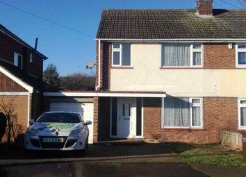 Thumbnail 3 bed semi-detached house to rent in Deerhurst, Benfleet