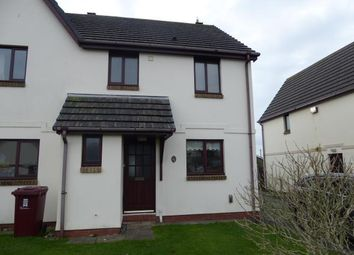 Thumbnail 3 bed semi-detached house to rent in Honeyborough Grove, Neyland, Milford Haven