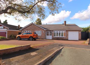 Thumbnail 4 bed detached bungalow for sale in Connaught Close, Walsall