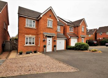 Thumbnail 4 bed detached house for sale in Yelden Close, Rushden