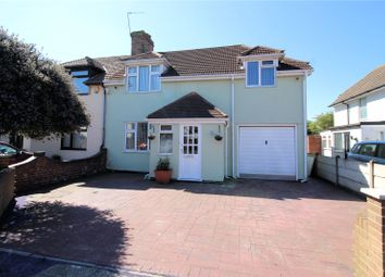Thumbnail 4 bed semi-detached house for sale in Heath Way, Northumberland Heath, Kent