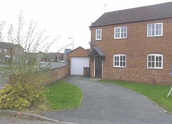 Thumbnail 2 bed semi-detached house to rent in 130, Cabin Lane, Oswestry, Shropshire