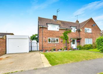 Thumbnail 3 bedroom semi-detached house for sale in Charles Way, Newport Pagnell