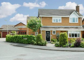 Thumbnail 4 bed detached house for sale in Mulberry Close, Lutterworth, Leicestershire
