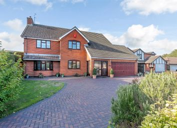 Thumbnail 5 bed detached house for sale in Slade Close, Nuneaton