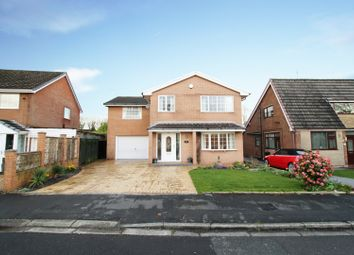 Thumbnail 5 bed detached house for sale in Shawbrook Close, Chorley, Lancashire