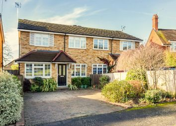 Thumbnail 3 bed semi-detached house for sale in Four Wents, Cobham