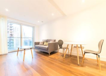 Thumbnail 1 bed flat for sale in Duckman Tower, Lincoln Plaza, Canary Wharf, London