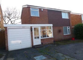 Thumbnail 3 bed detached house to rent in Overton Close, Hall Green, Birmingham