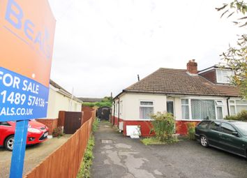 Thumbnail 2 bedroom semi-detached bungalow for sale in Hunts Pond Road, Park Gate, Southampton