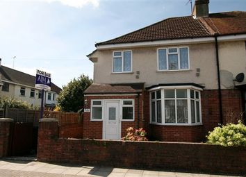Thumbnail 3 bedroom semi-detached house for sale in Donaldson Road, Cosham, Portsmouth, Hampshire