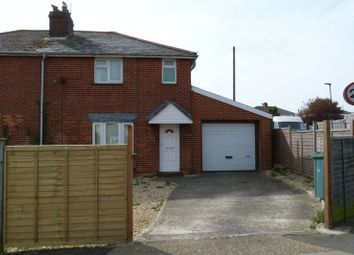 Thumbnail 3 bedroom semi-detached house to rent in Mill Hill Road, Cowes