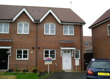 Thumbnail 3 bed end terrace house to rent in Otter Close, Downham Market