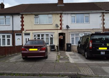 Thumbnail 3 bed terraced house for sale in Clevedon Cresent, Northfields, Leicester