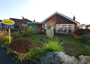 Thumbnail 2 bed detached bungalow for sale in Maple Close, Market Drayton
