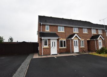 Thumbnail 3 bed end terrace house for sale in Worsdell Close, Crewe