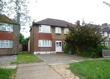 Thumbnail 4 bed semi-detached house to rent in Hillcross Avenue, Lower Morden, London