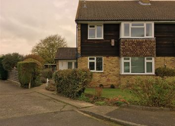Thumbnail 2 bed flat to rent in Winchstone Close, Shepperton, Middlesex