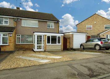 Thumbnail 3 bed semi-detached house for sale in Shelley Road, Enderby, Leicester