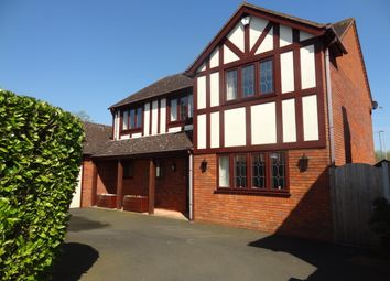 Thumbnail 4 bed detached house for sale in Deepdale, Wilnecote, Tamworth