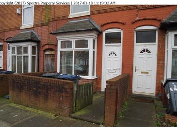 Thumbnail 3 bed terraced house to rent in Chantry Road, Handsworth, Birmingham