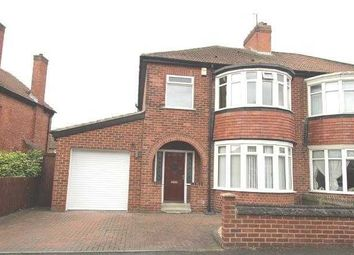 Thumbnail 3 bed semi-detached house for sale in Cypress Crescent, Blyth